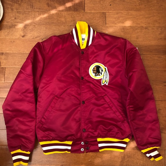 new arrival 8ce43 a5ae5 Starter satin Washington Redskins Jacket